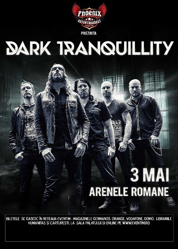 Concert Dark Tranquillity la Bucureşti