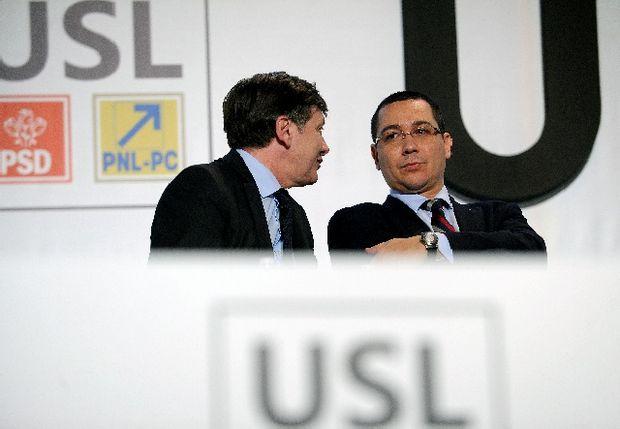 USL: PNL strivit, Ponta a câştigat bătălia şi Justiţia