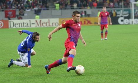 Steaua şi Dinamo Tbilisi se bat pentru grupele Ligii Campionilor