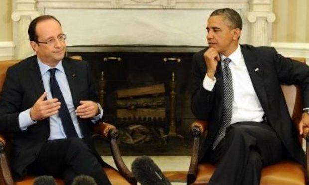 Barack Obama şi François Hollande au discutat despre scandalul de spionaj în care este implicată NSA