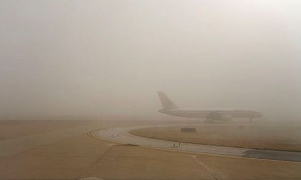 Zborul Lufthansa Munchen - Sibiu şi cursa retur au fost anulate din cauza ceţii