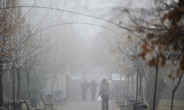 ANM: Cod Galben de ceață și polei în București și în 20 de județe