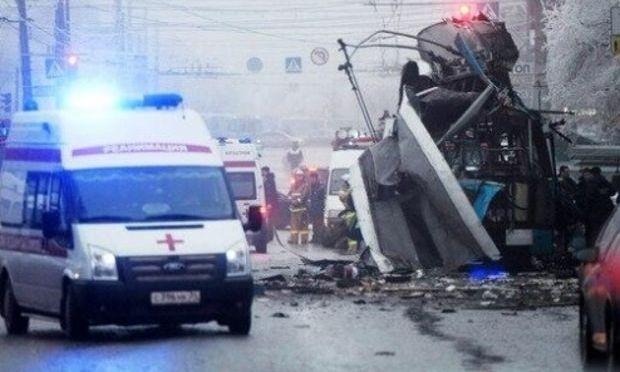 UPDATE. Rusia: 15 persoane au murit la Volgograd după ce un troleibuz a fost aruncat în aer