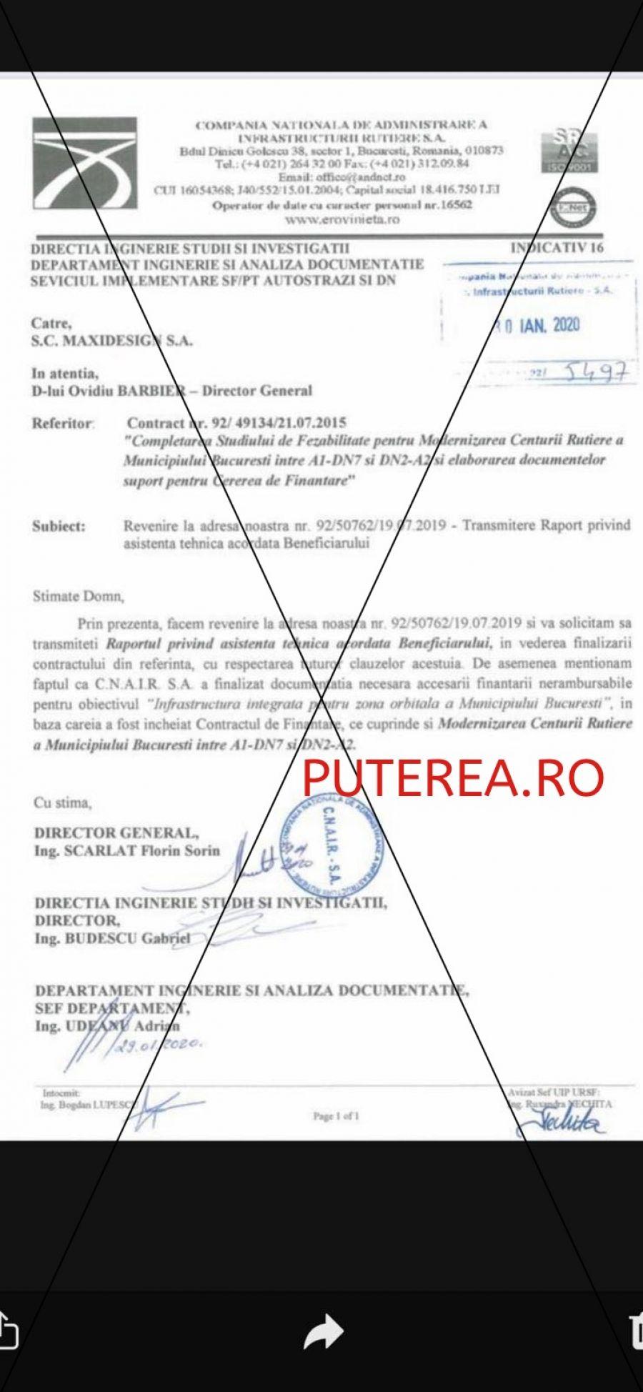EXCLUSIV. Ovidiu Barbier, șeful de la CNAIR care își facturează singur milioane de euro din vistieria CNAIR