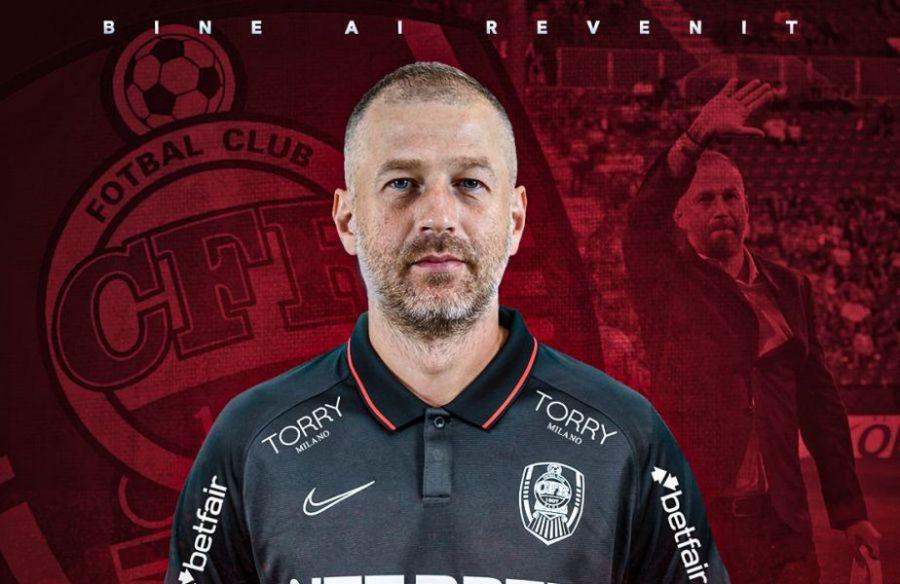 CFR Cluj are un nou antrenor. Cine preia echipa din Ardeal