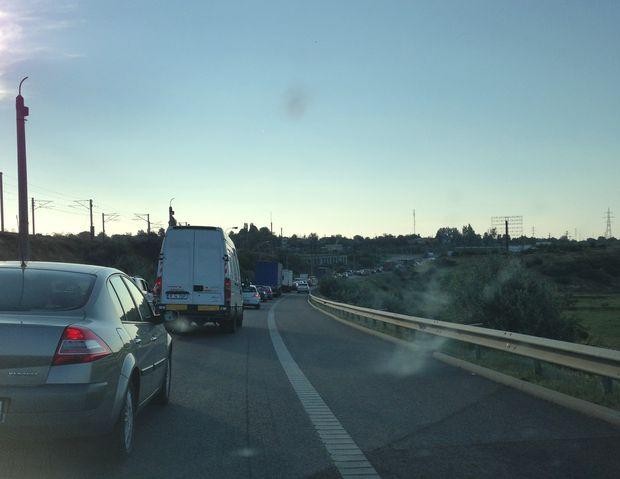 A2, Autostrada cu coadă! Nervii de la Feteşti - FOTO
